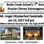 Russian Dinner January 13