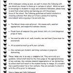 Halloween Letter 2017