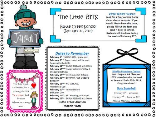 Little Bits 1-31-19  Ingles y Espanol