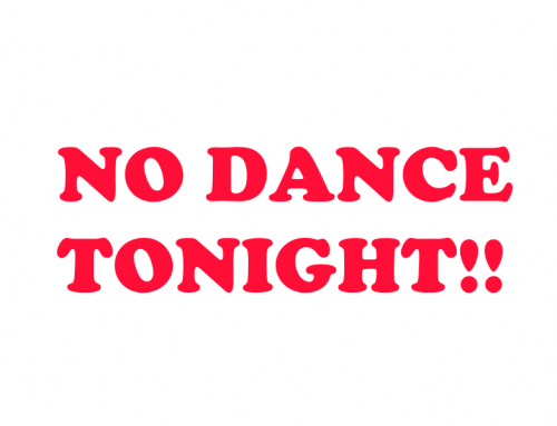 Tonight's Middle School Dance Cancelled