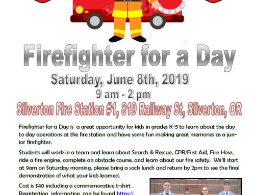 Camp – Firefighter for a Day June 8