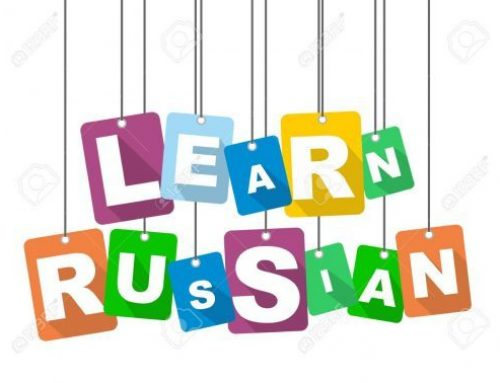 Russian Class Registration for Fall is open!  Please return form by Friday, August 23