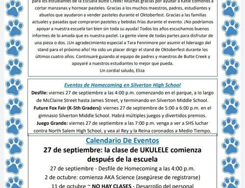 September 26 Bits en Espanol