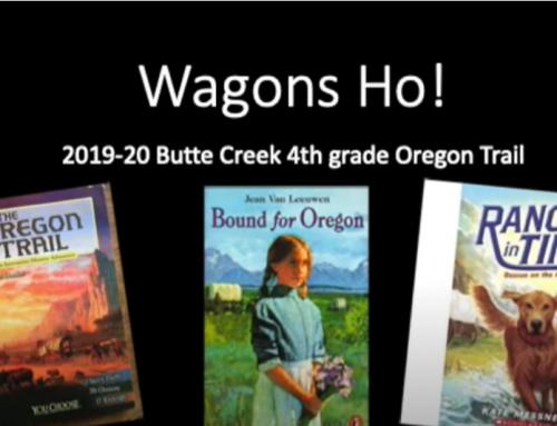Fourth Grade Oregon Trail Wagons