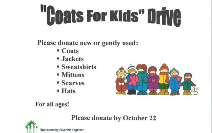 Coats for kids flyer