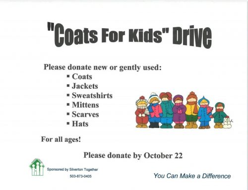 Coats for Kids – Donate Until October 22