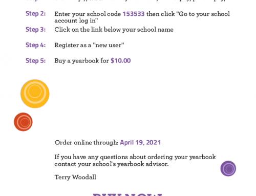 Order your yearbook online!
