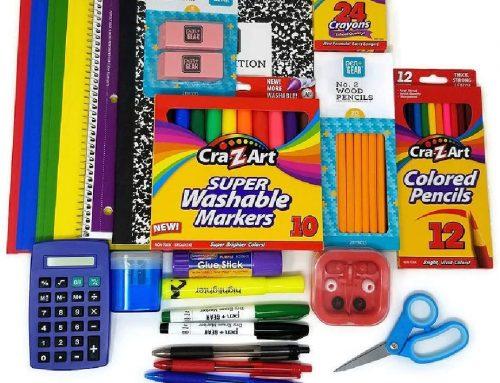Supplies for Grades K-4